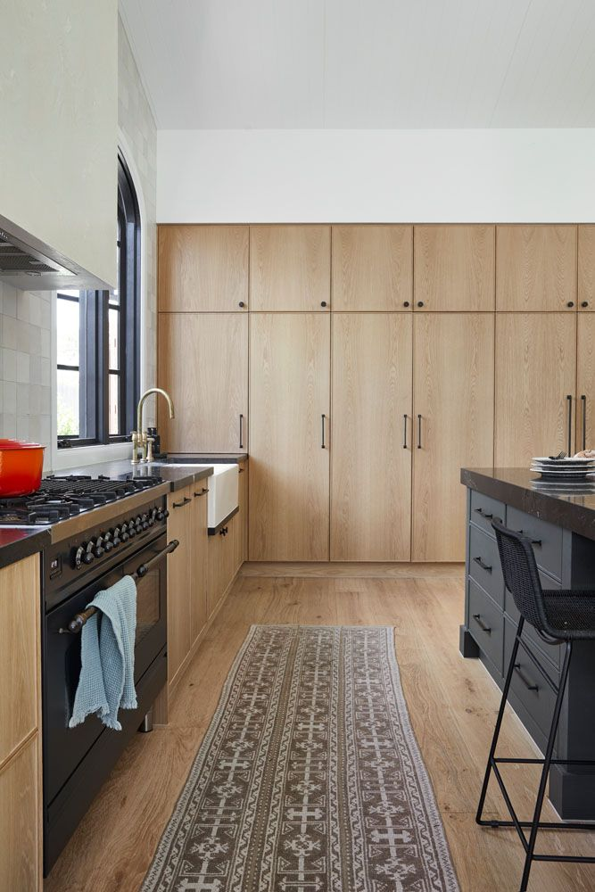 Timber joinery in the kitchen