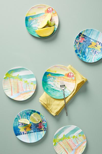 Anthropologie plate collection by Blakely Made