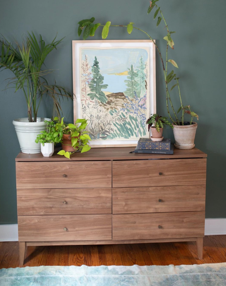 Dresser with painting from Blakely Made