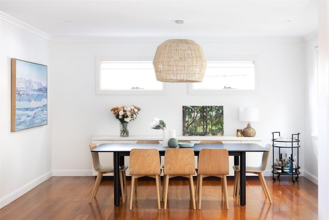 Dining table by Emma Blomfield