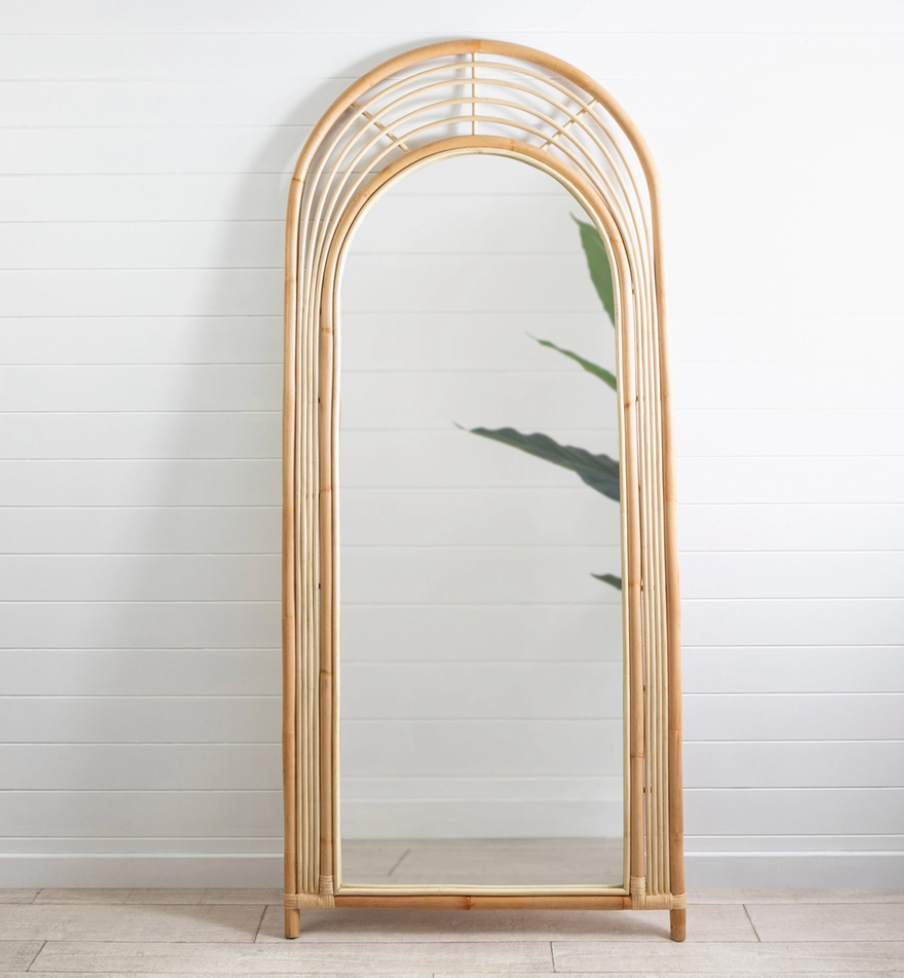 Ray arch floor mirror from Pillow Talk
