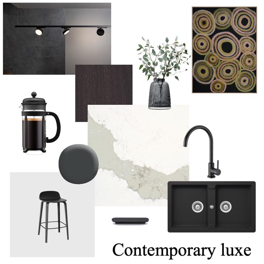 Contemporary kitchen scheme