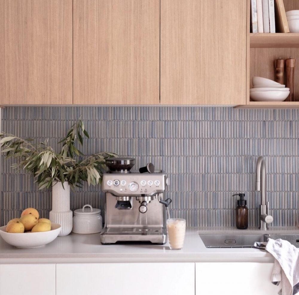 Bettina kitchen with kitkat tile