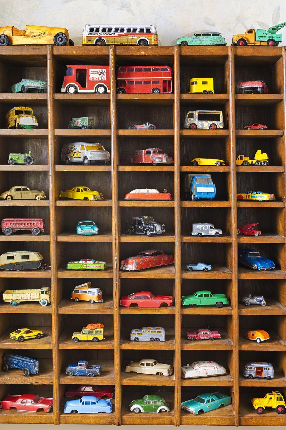 Matchbox and Hot Wheels car storage ideas