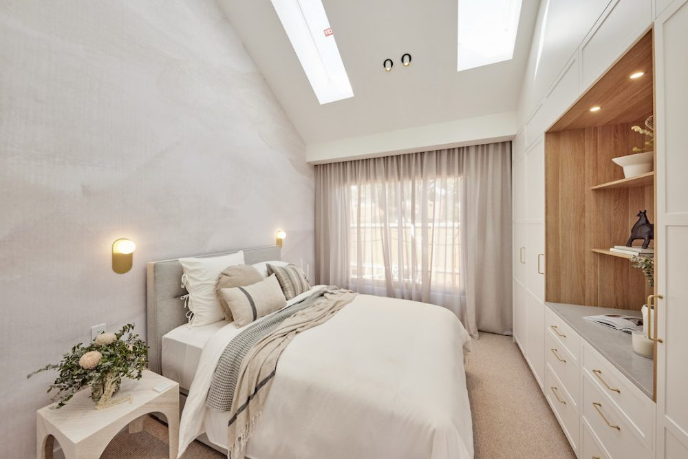 Guest bedroom from The Block 2021