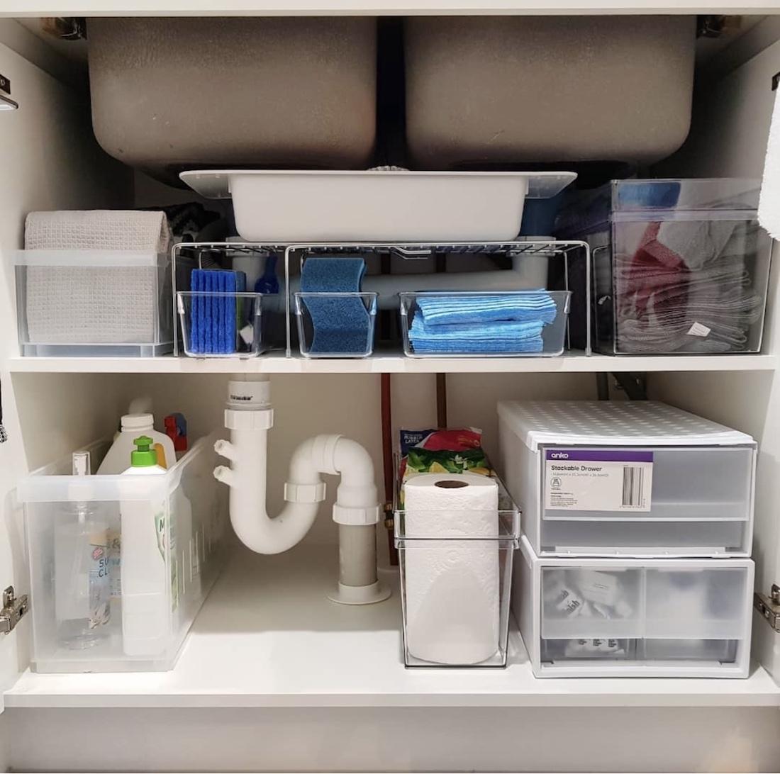 Under sink organisation