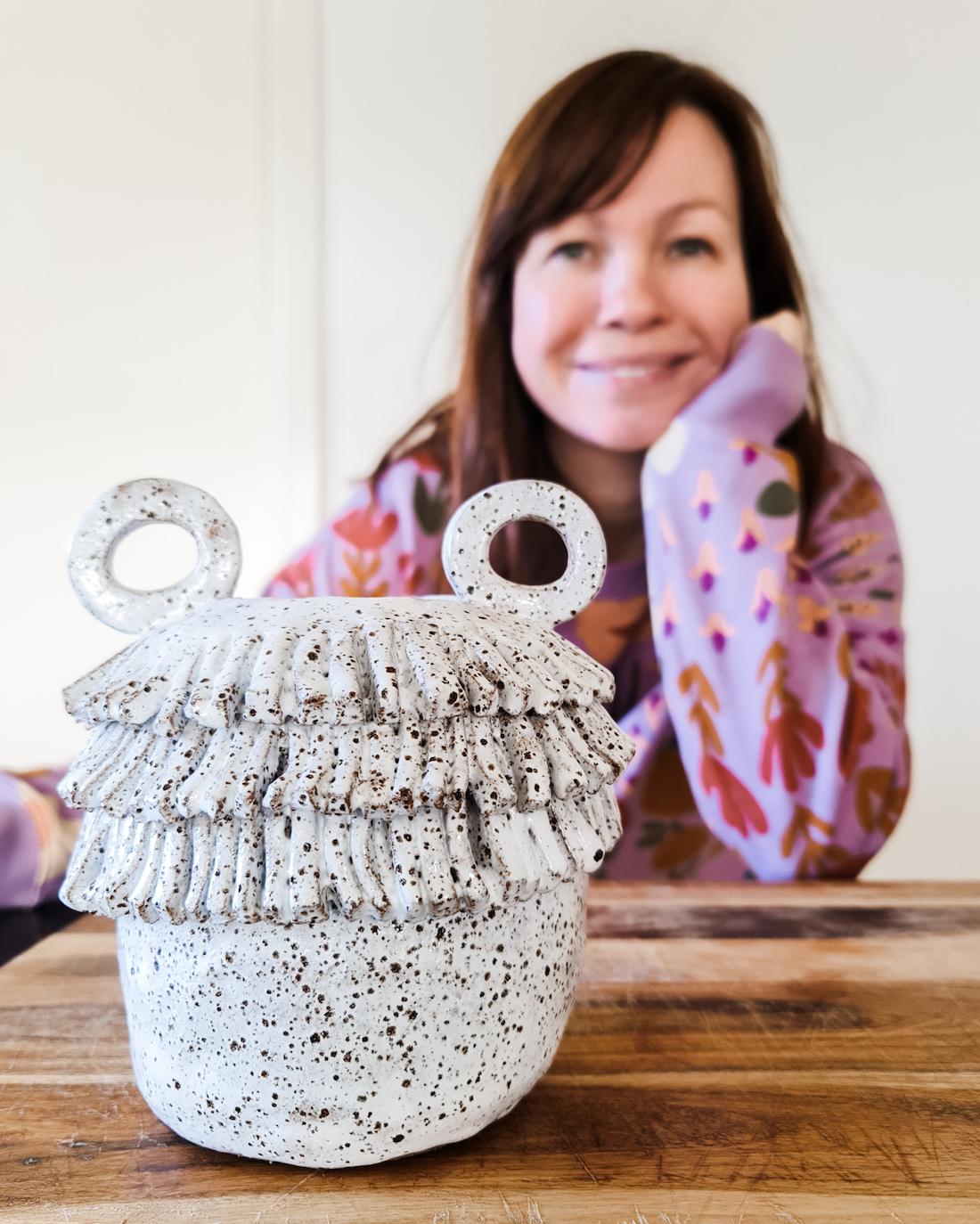 The Seasonal Ceramicist_Emma Fleetwood_portait option_imperfect textural ceramics