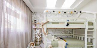 Kids bedroom with bunkbeds