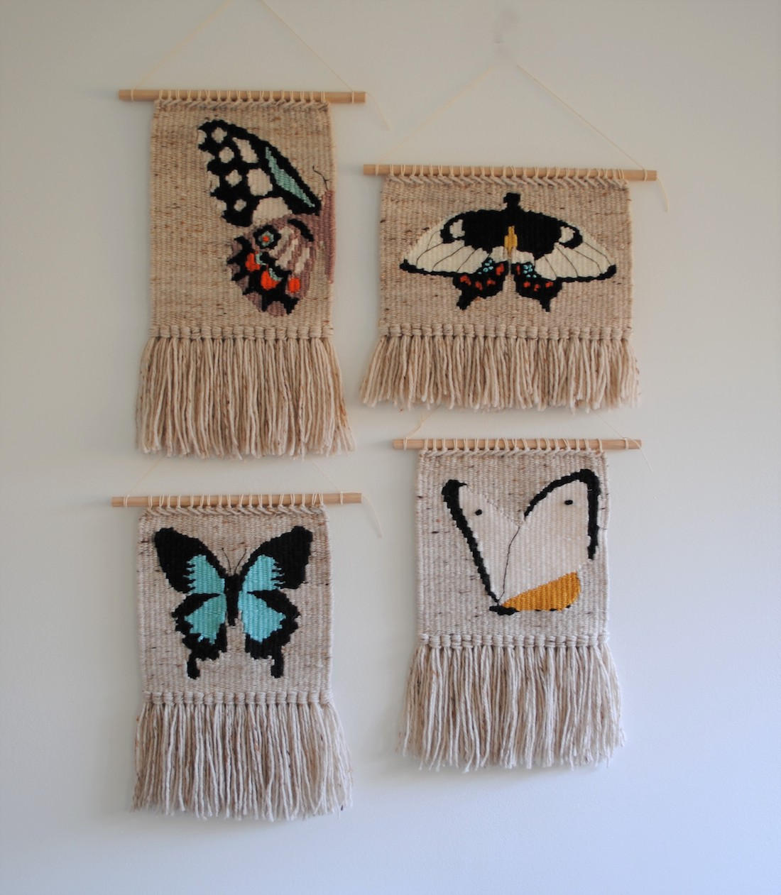 Olive and the Boy_Butterfly tapestries